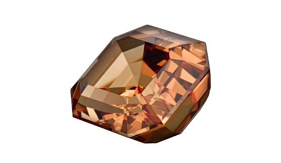Imperial topaz is not a very beautiful gemstone. Why not get off the beaten track and have Annette Girardon make such a stone into a custom-made ring?